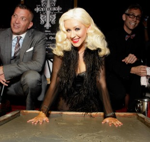 The Abbey's Gay Walk of Fame Honors Christina Aguilera - Cocktails Hosted by Belvedere